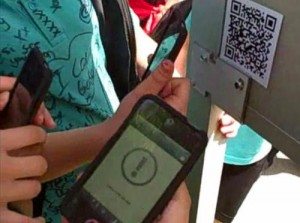 5124 Using QR code readers