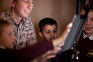 3424 working with children