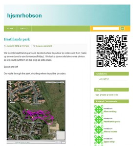 5122 Route for placing QR codes