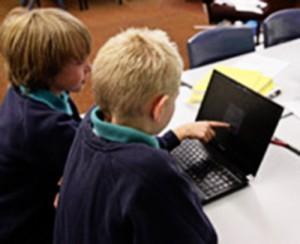 6.1.3.2 Children using a laptop