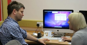 3422 students using an iMac